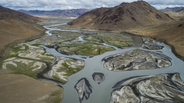 Tibetan Plateau, 5500m | Project: ORF Universum - Skyriver of the Himalayas
