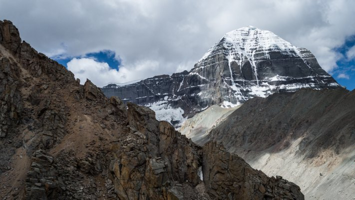 During the Cora around Mt. Kailash, 5700m | Project: ORF Universum - Skyriver of the Himalayas
